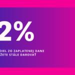 2% pre našu cirkevnú školu